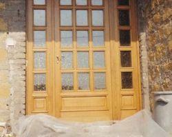 Basse Ham - Porte d'entrée vitrée
