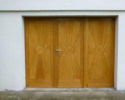 Buding - MENICA - porte de garage 3 vantaux