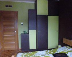 Hayange - Menica Menuiserie - armoire multicolore en panneaux mélaminé