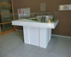 Support maquette - Gasperich Luxembourg