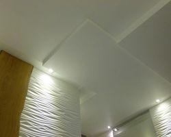 Plafond en panneaux de bois