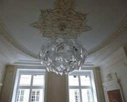 Moulure bois plafond