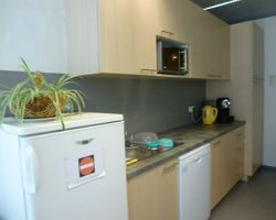 Luxembourg Cloche d'or - Kitchenette